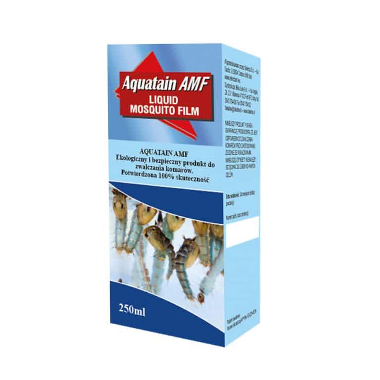 komary w oczku wodnym aquatain 250ml