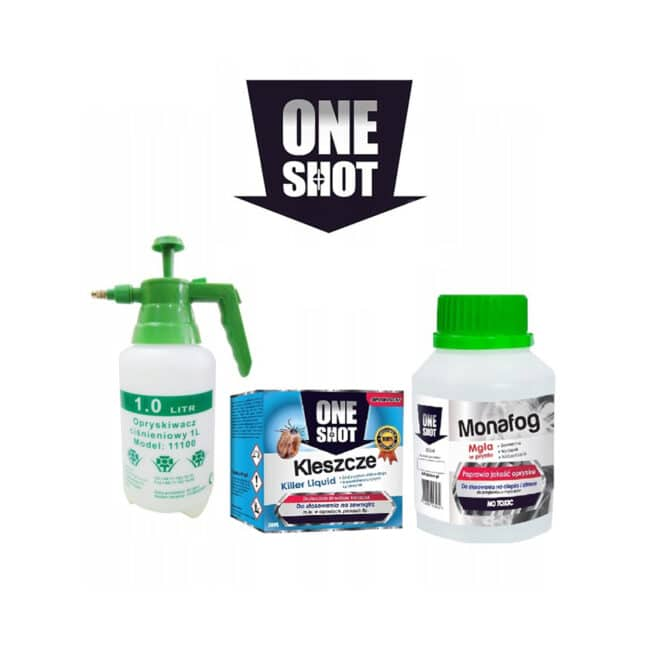 oprysk na kleszcze i komary zestaw