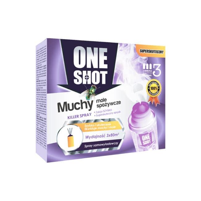 spray na muchy fogger x3